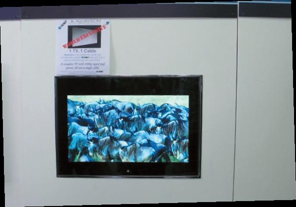 TV über HD-BaseT stellte Aquavision vor