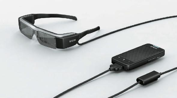 Epson-Datenbrille