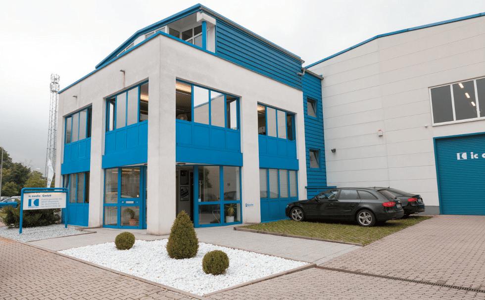 Firmensitz von IC Audio in Mannheim