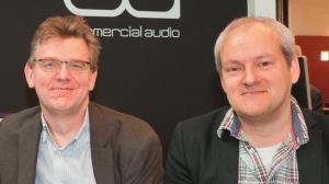 Ron Bakker (links) und Ruben van der Goor, Yamaha Music Europe