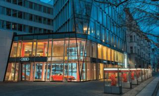 Shop Design bei Audi