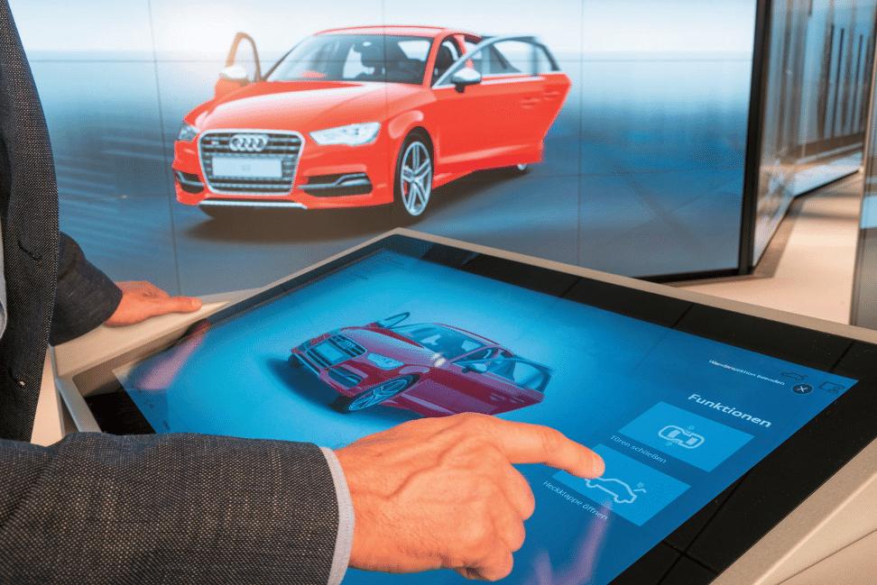 Die Audi City-Stores setzen auf Virtual Reality und Interaktivität