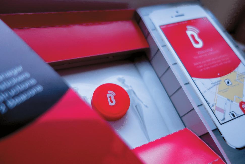 Für Retail-Anwendungen zugeschnitten: das iBeacon Retail Kit der niederländischen Firma Beaconic (Foto: Beaconic)