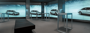 Showroom bei Audi