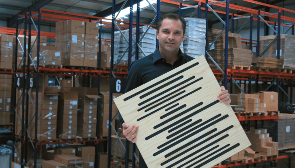 Unternehmensgründer und CEO César Carapinha ist sich sicher, dass seine Produkte auch im professionellen Bereich gut ankommen Quelle: Claudia Rothkamp