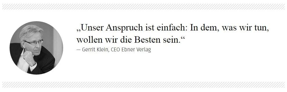 Gerrit Klein Zitat