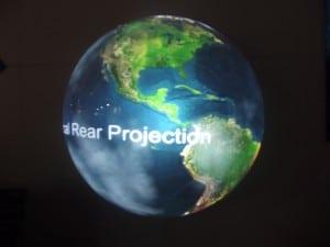 Coolux Projektion
