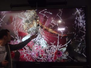 Crash-Display von Panasonic