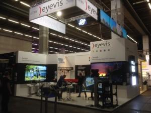eyevis Stand auf der Prolight+Sound