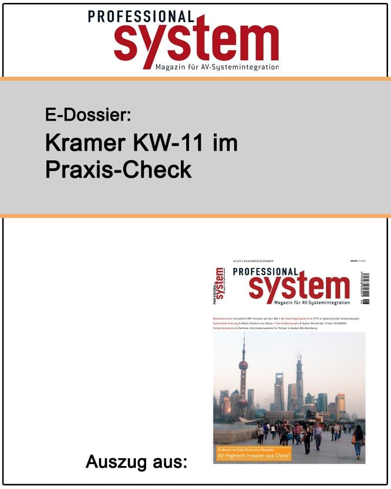 Produkt: Kramer KW-11