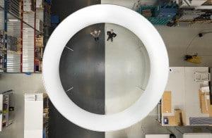 360 Grad Projektion