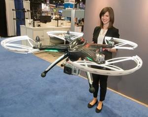 Drone auf der InfoComm