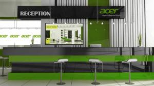 Digital Signage von Acer