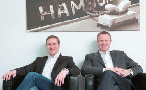 Andreas Stelly und Lutz Kern, Geschäftsführer