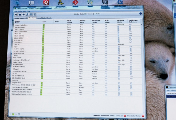 Dante auf dem PC