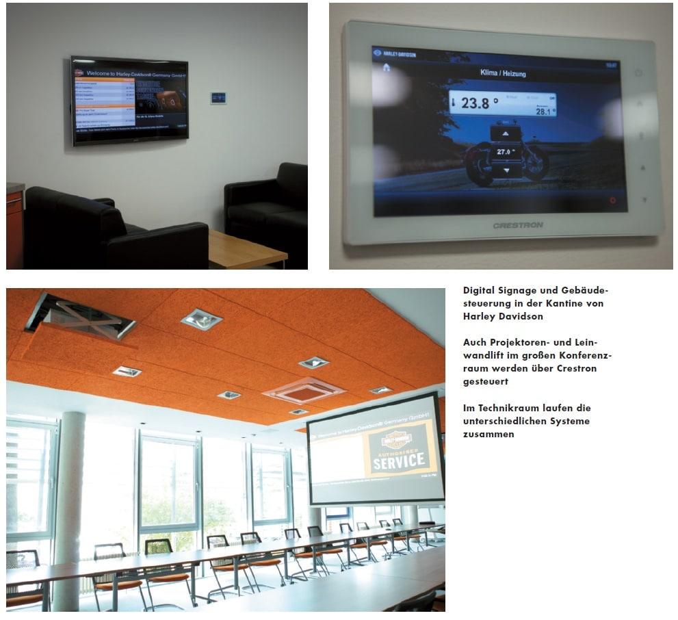 Digital Signage und Gebäude - steuerung