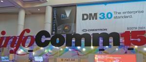 Banner von der InfoComm 2015