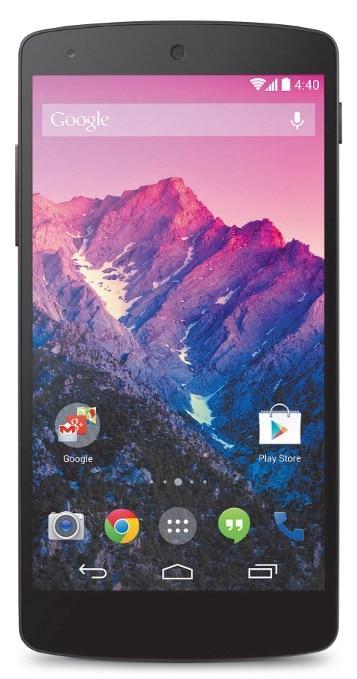 Das Smartphone Nexus 5 wird durch Update zum Android 5.0 Gerät