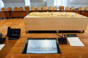 Sitzungssaal im Rathhaus Erding