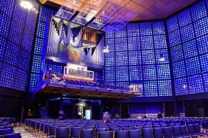 Kapelle die Beleuchtet wird
