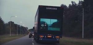 Der Safety Truck von Samsung