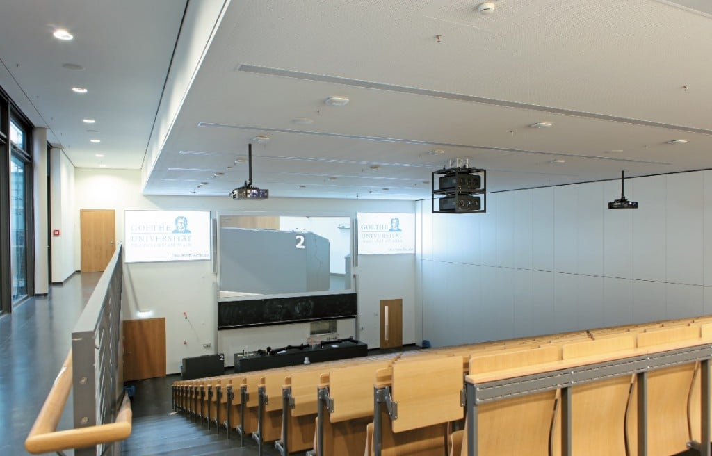 Hörsaal 2 des Otto-Stern-Zentrums