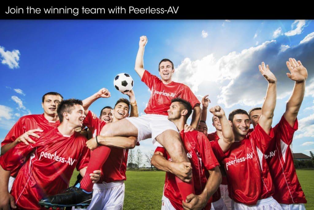 ISE 2016_Join the winning team with Peerless-AV