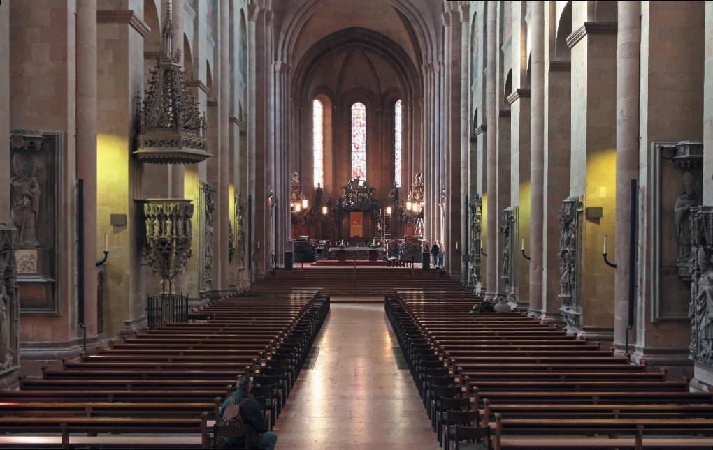 Der Mainzer Dom von Innen