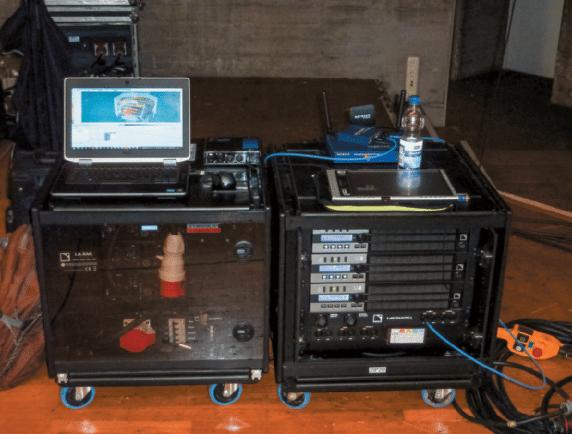 Amp-Rack-von-L-Acoustics-war-mit-LA8-DSP-Endstufen-bestückt