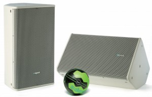 Ballwurfsicherer Lautsprecher