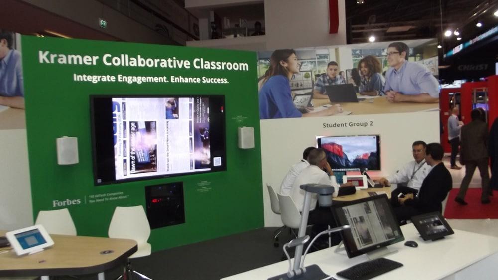 Kramer Collaborative Classroom : Ise eindrücke vom ersten tag professional system