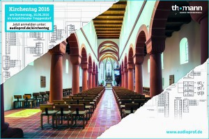 thomann Audio Professionell Kirchentag Anmeldung