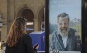 Werbung in Zürich