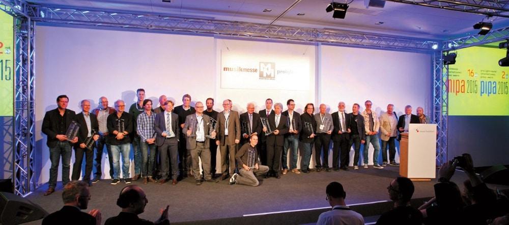 Auch in diesem Jahr zu erwarten: großes Finale mit allen Award-Preisträgern (hier 2015)