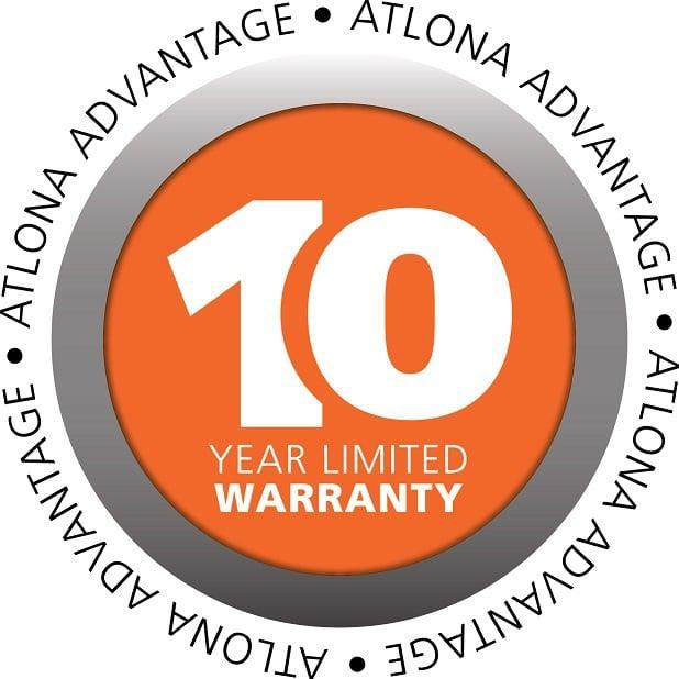 10 Jahre Atlona Logo