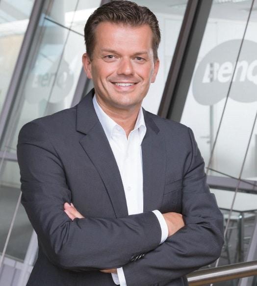 Oliver Barz, Managing Director & Vice President Europe, BenQ Deutschland GmbH
