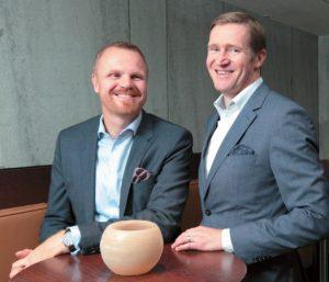 Andreas Stelly (links) und Lutz Kern, Geschäftsführer Kern & Stelly