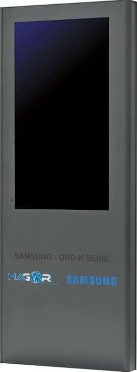 Die ScreenOut OHD-K Serie wurde speziell für die Outdoor- Displays von Samsung entwickelt.