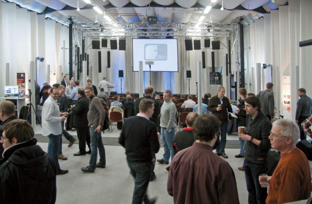 Fohhn Sound Lab in Nürtingen nutzt ein Iosono-System mit diversen Fohhn-Lautsprechern