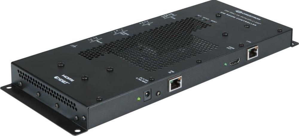 Für den Einsatz in umfangreicheren Systemen oder Videowänden mit mehreren kaskadierten Displays: der DigitalMedia-Empfänger DM-RMC-4K-Scaler-C