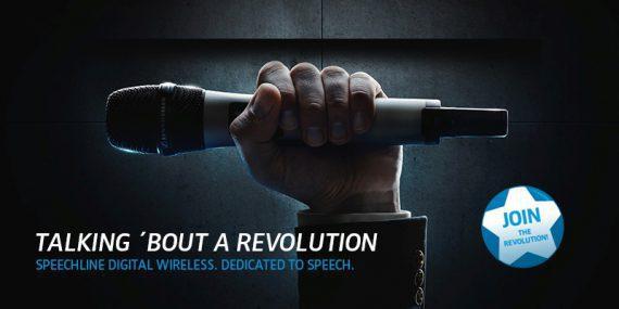 Sennheiser Mikrofon im Einsatz