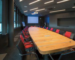 Konferenzraum im ÖBB Headquarter Wien