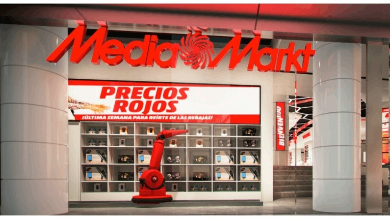 media markt er ffnet ersten digital store in barcelona professional system. Black Bedroom Furniture Sets. Home Design Ideas