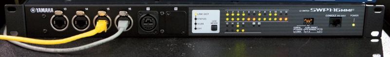 Dante-Netzwerk-Switch Yamaha SWP1-16MMF