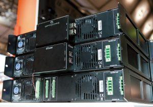 Optocore-Aufsteckmodule für die DSP-Verstärker DI- 2.2000 (2 × 2000 W) und DI-4.1000 (4 × 1000 W) von Fohhn