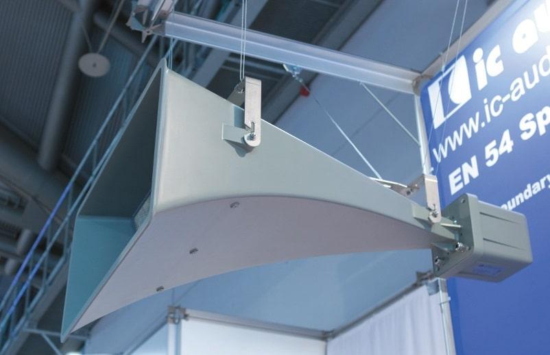 Tunnelhorn mit EN54-24 Zertifizierung von ic audio