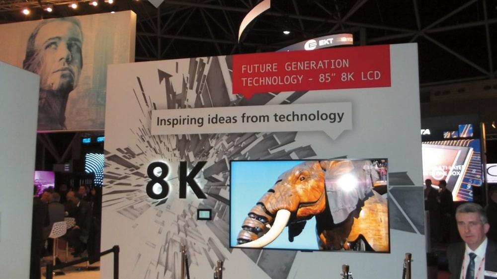 Auch bei LC-Monitoren sind bereits Auflösungen bis zu 8K möglich