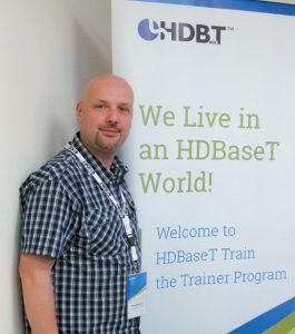 Einer der Teilnehmer: Alessandro Poretti, Produktmanager bei LINDY
