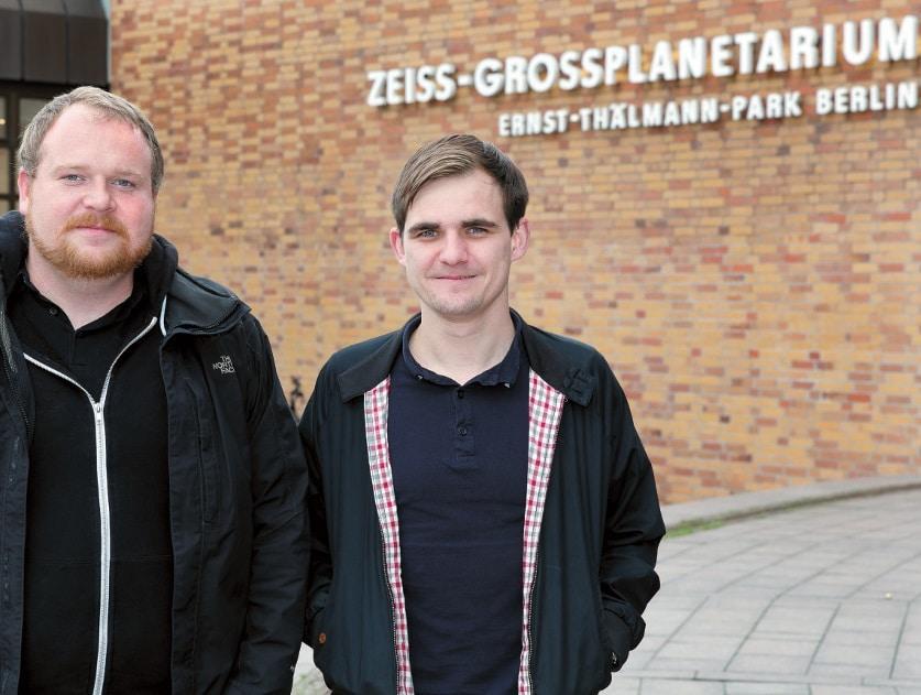 Für B.I.N.S.S. wurden federführend Gunther Rieck (rechts im Bild) und Florian Rath tätig.