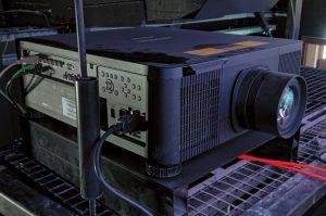 Für Sonderveranstaltungen und Vorträge stehen im Zeiss-Großplanetarium Berlin zwei Hitachi 1-Chip-DLP-Laser-Projektoren des Typs LP-WU9750B bereit.